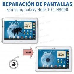 Cambio pantalla tactil Galaxy Note 10.1 N8000