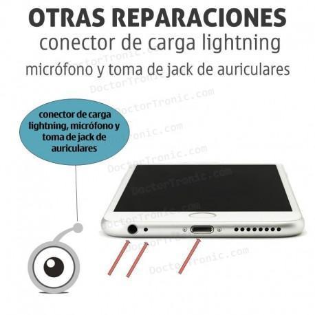 Reparación iPhone 6/6s Conector de carga lightning