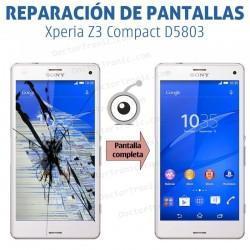 Cambio pantalla completa Sony Xperia Z3 Compact D5803