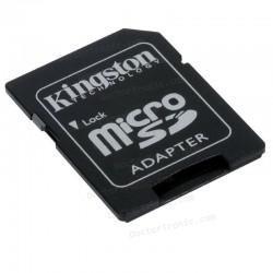Adaptador Tarjeta Memoria MicroSD a SD