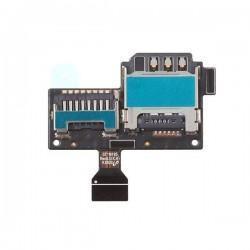 Lector de tarjeta SIM y microSD para Samsung i9195 Galaxy S IV mini Galaxy S4