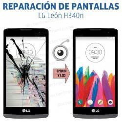 Cambio pantalla completa LG León H340n