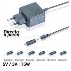 Cargador de corriente universal 5V / 3A | 15W
