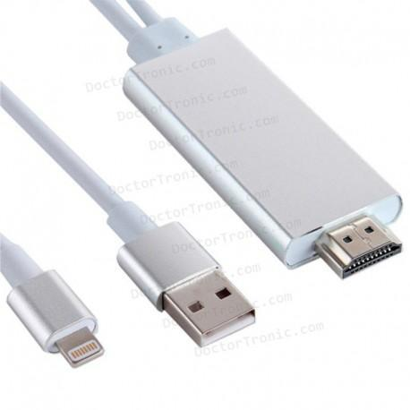 info for e9623 aa36d Cable HDMI Adaptador Compatible Lighting IPhone 5 / IPhone 6 / IPad -  Doctor Tronic