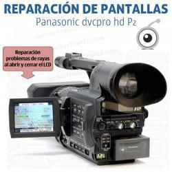 Reparación LCD Panasonic dvcpro hd P2