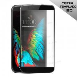 Protector Pantalla Cristal Templado LG K10 (3D Negro)