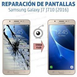 Cambio pantalla completa Samsung Galaxy J7 J710 (2016)