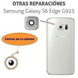 Cambio lente cámara Galaxy S6 Edge G925
