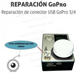 Reparación de conector USB GoPro 3 / 4