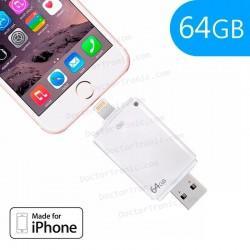 Pen Drive X 64 GB USB 3.0 I-Usb-Storer IPhone 5 / 6 / 7 / 7 Plus / IPad