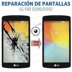 Reparación pantalla LG F60 D390/D392