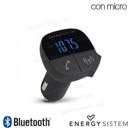 Manos Libres Bluetooth Vehiculo + Transmisor Audio FM Energy Sistem