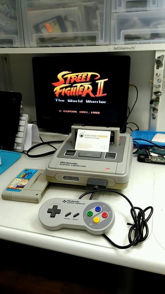¿Necesitas reparar una Súper Nintendo?