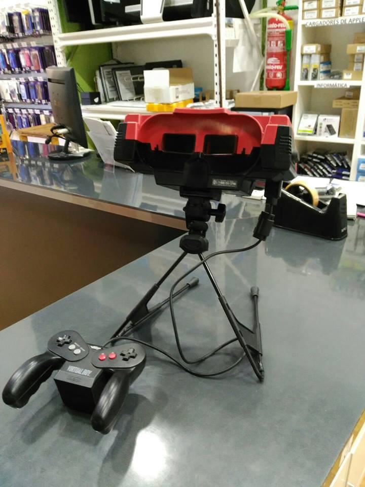 Repara tu consola clásica: Virtual Boy