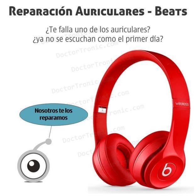 Reparación de auriculares beats: todo lo que debes saber