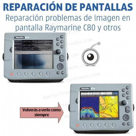 Por qué reparar electrónica marina Raymarine y Navman