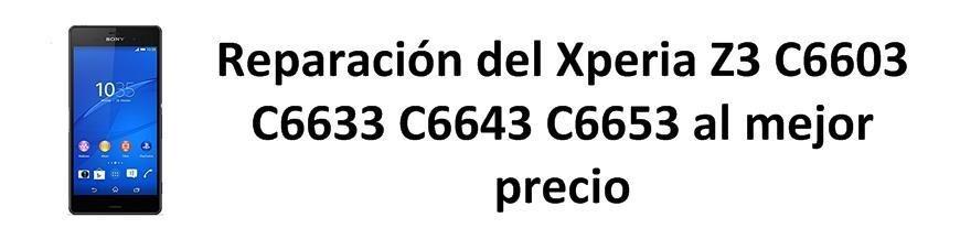 Xperia Z3 C6603 C6633 C6643 C6653
