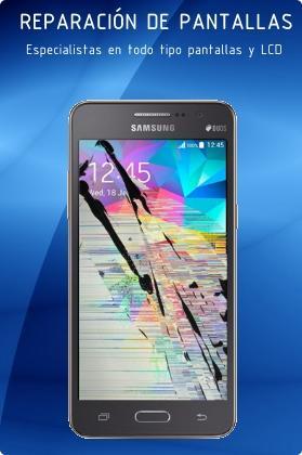Reparación pantallas smartphone