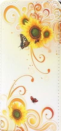 Mariposa girasoles